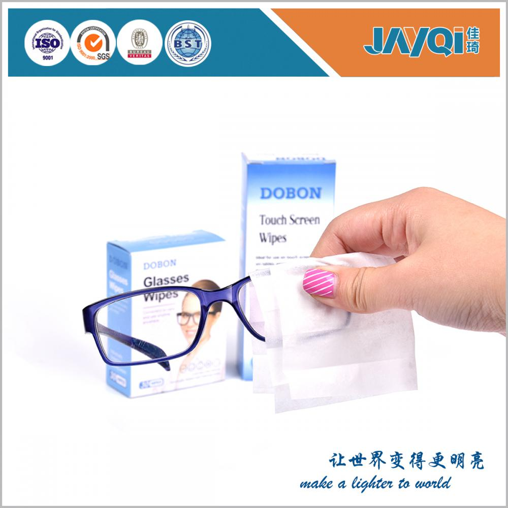 OEM Anti-static Glasses Cleaning Wet Wipes