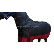 Tapete confortável do cavalo 1200d combinado