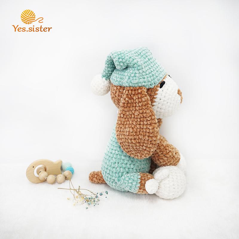 Crochet Animal Dog Toy