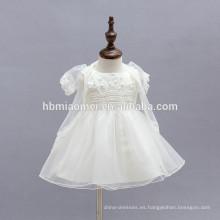 Precioso bebé vestido de tutú en capas de la boda de pascua dama de honor junior lindo infantil niño vestidos de navidad con cappa de tul