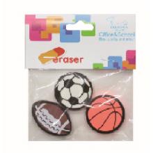 Tres especies de pelota deportes borrador