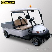 Dongguan Factory Utility Elektrischer Golfwagen mit Alarmlicht