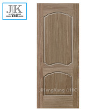 JHK-Walnut Wood Natural Padouk خشب داكن الجوز HDFDoor الجلد
