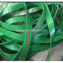 Low Cost green 28oz 32oz flat transmission belt