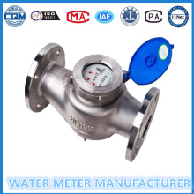 Dn65mm 304 Stainless Steel Flange Woltman Water Meter