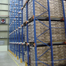 high density stable storage first-in-last-out drive in storage racking