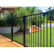 Steel hercules fence panel