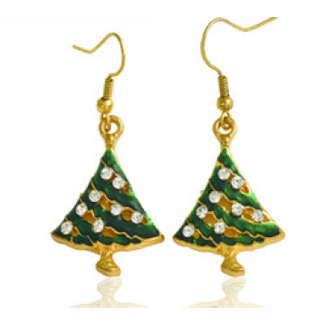 Christmas Jewelry/Christmas Earring/Christmas Tree (XER13374)