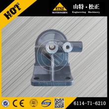 Komatsu fuel filter head 6114-71-6210 for PC300-7