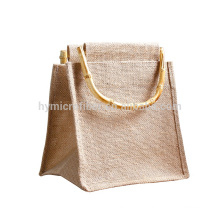 Factory supply cheap printed jute tote bag