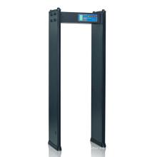 Puerta de Detección de Alta Velocidad de Detección de Metales con 4 Zonas