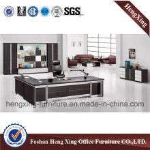 Modern L Shape MDF Executive Office Desk (HX-5DE059)
