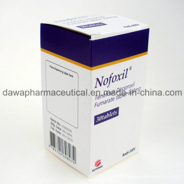 Anti-HIV Drug Tenofovir Disoproxil Fumarate Tablet