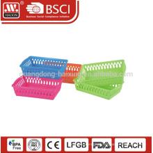 Vendas quente ampla utilização com cesto de plástico utilitário design simples