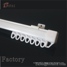 plastic pvc straight curtain track and plastic accessories curtain rail