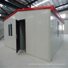 Casa de cor pré-fabricada Buitd rápida para favela