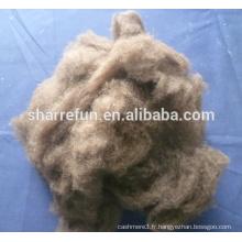 100% pure laine de yak marron foncé chinoise