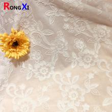 tela turca del ojal del algodón del agujero del bordado del ajuste del cordón