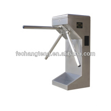 Automatic vertical tripod turnstile with 304# stainless steel housing