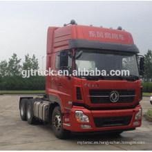 Dongfeng marca 6x4 unidad tractor cabeza camión para remolque de mercancías peligrosas