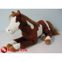 Meet EN71 and ASTM standard ICTI plush toy factory horse plush toys