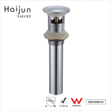 Haijun Wholesalers China cUpc Chrome Plated Bathroom Sink Overflow Drain