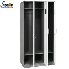 KD структуры горячего высокого качества сбывания школе используются 3 двери железо цвет железном шкафу