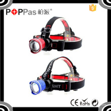 Poppas T85 High Power Headlamps Охотничья головная лампа Кемпинговая головка Фонарик Фонарь фары