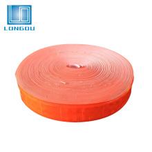 cinta elástica reflexiva del rodillo elástico anaranjado edmonton para la ropa