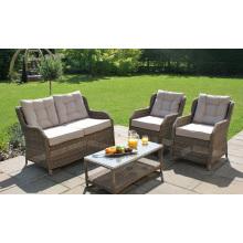 Wicker Lounge Garden Furniture Outdoor Rattan Patio Sofa Set