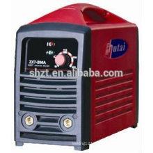 Portátil inversor IGBT cubierta de plástico barata arco máquina de soldadura MMA 200