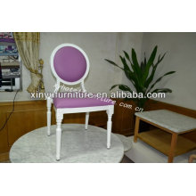 White frame stackable louis chair with cheap price(XY0186)