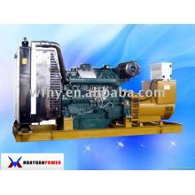 Tipo abierto 250KW Generador diesel Accionado por el motor de Wudong