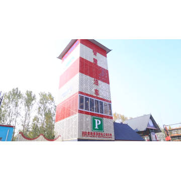 3 layers Space-saving Circulating Car Parking System Otopark Stacker