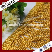 2016 Liquidación de stock de producto para el hogar Textil de Golden Curtain Bullion Trimming