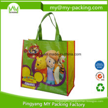 Reusable Packaging Promotion BOPP Laminated PP Woven Bag