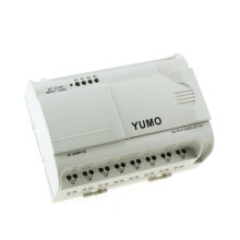 Yumo Af-20mr-D2 DC 12-24V Power Supply 12 Point DC Input (Analog) 8 Point Relay Output Micro PLC Mini PLC Auto Systems Alarm