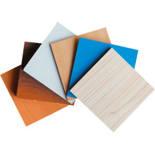 Wood Grain Paper Laminated MDF Fiber Board