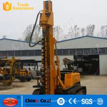 Máquina de conducción hidráulica de la plataforma de perforación del barreno de la construcción del bajo costo que atornilla el conductor de la pila