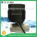 Dn20 Jardín Ss304 Cr201 acero inoxidable motorizado motor eléctrico válvula de bola