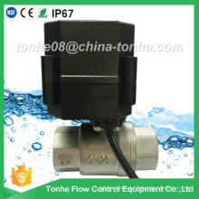 Dn20 Garden Ss304 Cr201 Stainless Steel Motorized Electric Motor Ball Valve
