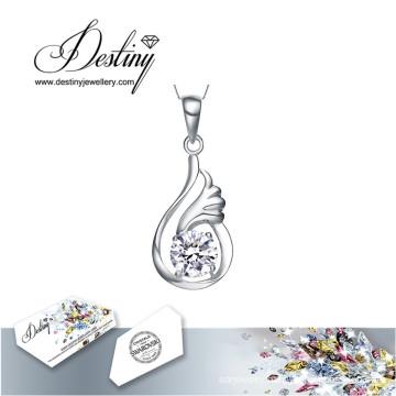 Destiny Jewellery Crystal From Swarovski Necklace Dolphin Pendant