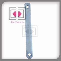 0.01 precision aluminum die casting hosiery machinery parts