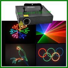 Kartun PRO Papar Lasr sistem 2W warna penuh Laser projektor