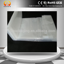Opacity White Pe Shrink Wrap Films pour la construction