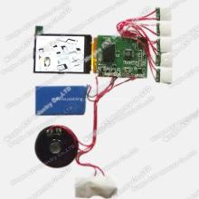 Módulo de vídeo, módulo de vídeo LCD, módulo de folheto de vídeo