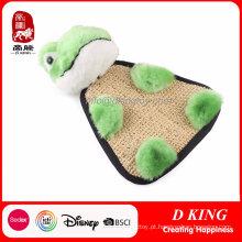 Brinquedos macios feitos sob encomenda do animal de estimação dos brinquedos do luxuoso