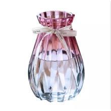 Centerpiece Decorative Colored Clear Glass Flower Vase/Glass Vases