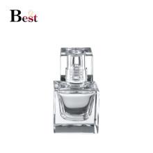 15 ml fantaisie petite pompe à parfum pompe à bouteille clair verre carré spray vaporisateur chinois fournisseur