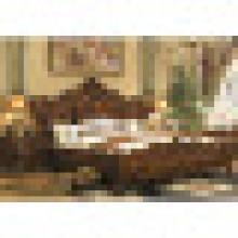 Деревянная кровать для набора мебели для спальни (A05)